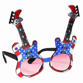 Online Stores, Inc. Patriotic Guitar Sunglasses: Toys & Games