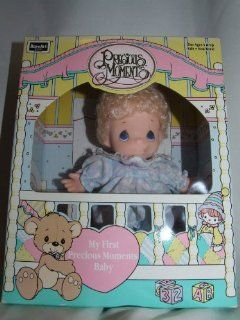 1992 Rose Art Industries, Inc. 1992 PMC, Inc. Rose Art Precious Moments My First Precious Moments Baby 10400/10000 ASST. w/contents of 6 Inch Vinyl Doll, Combable Hair, Removable Clothing and Surfece washable Clothing: Everything Else