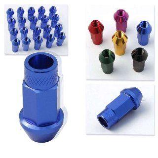 Godspeed 20 Pieces 12x 1.25mm Blue Color Extended Aluminum Lug Nut Lugs 12x1.25mm Wheel Nut Nuts Fit ALL Subaru , Legacy , Legacy Gt , Legacy 2.5gt Limited , Legacy 2.5i Premium , Impreza , Impreza STI , Impreza WRX , 2.5rs Impreza Ts WRX , 2.5 Rs Impreza