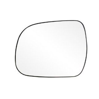 Fit System 88224 Toyota Highlander/Tacoma Left Side Power Replacement Mirror Glass with Backing Plate: Automotive