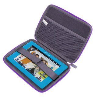 "DURAGADGET ""Tough"" Purple Hard Clam Shell EVA Carry Case With Soft Lining For Lexibook Tablet Junior 2, Lexibook Tablet Master 2, Lexibook Tablet Ultra 2, Lexibook Tablet Master & Tablet Advance Computers & Accessories"