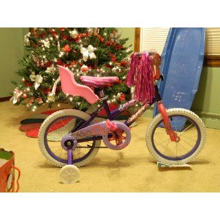 """Doll Bicycle Seat   """"Ride Along Dolly"""" Bike Seat with Decorate Yourself Decals (Fits 18"""" American Girl and Standard Sized Dolls and Stuffed Animals) Toys & Games"""