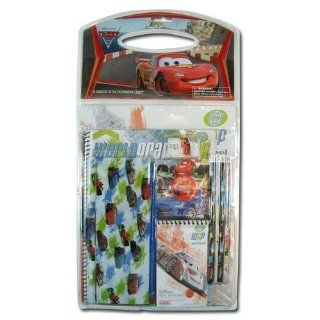 Disney Pixar Cars 2 World Grand Prix 11 Piece School Supplies Set: Everything Else
