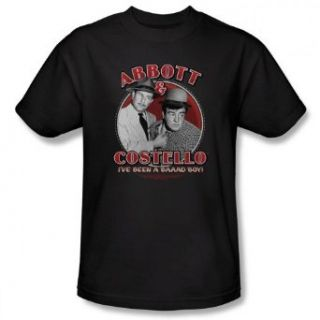 Abbott and Costello   I've Been a Bad Boy Men's T Shirt Clothing