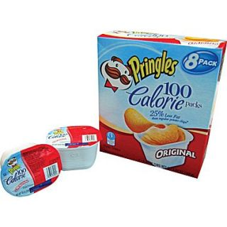 Pringles 100 Calorie Packs, .63 oz. Packs, 48 Packs/Box