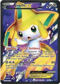 Jirachi Ex Plasma Blast 98/101 Full Art Pokemon Card Rare: Toys & Games