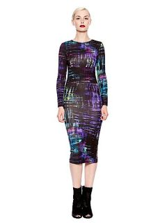 Pied a Terre Scratchy print jersey midi dress