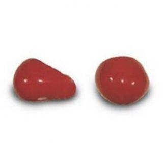ProKnows Clown Noses   Style E 2   Gloss Red: Clothing