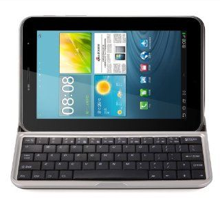 General Shop Mobile Aluminum Bluetooth 3.0 Wiresless Keyboard Case Stand Black for Samsung Galaxy Tab2 7 Computers & Accessories