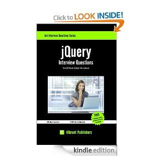 jQuery Interview Questions You'll Most Likely Be Asked eBook Vibrant Publishers Kindle Store