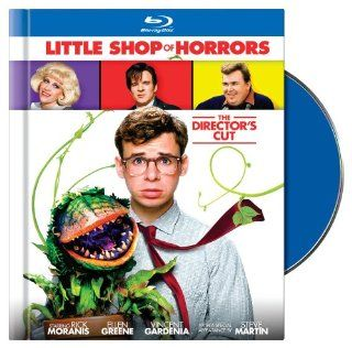 Little Shop of Horrors: Director's Cut [Blu ray]: Rick Moranis, Ellen Greene, Vincent Gardenia, Steve Martin, Levi Stubbs, Tichina Arnold, Michelle Weeks, Bill Murray, James Belushi, John Candy, Christopher Guest, Frank Oz: Movies & TV