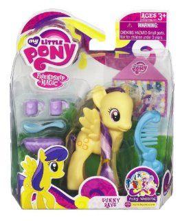 My Little Pony Basic Figure Sunny Rays, Pony Wedding Series. Toys & Games
