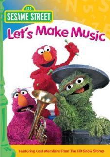 Sesame Street Let's Make Music Alan Muraoka, Emily Squires, Lisa Simon, Jon Stone  Instant Video