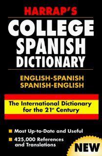 Harrap's College Spanish Dictionary English Spanish Spanish English (9780028631332) Chambers Harrap Publishers Ltd. Books
