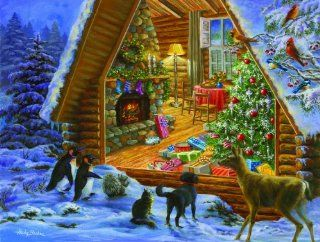 Looking In 300pc Jigsaw Puzzle by Nicky Boehme Toys & Games
