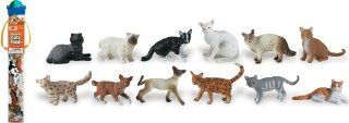 Safari Ltd Domestic Cats TOOB: Toys & Games