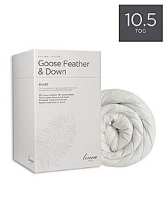 Linea Feather and down 10.5 tog superking duvet