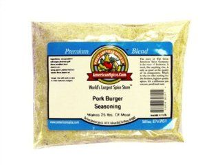 Pork Burger Seasoning   [makes 25 lbs.], 9.75 oz : Meat Seasonings : Grocery & Gourmet Food