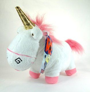 "Despicable Me Unicorn   12"" Fluffy Plush Unicorn: Toys & Games"