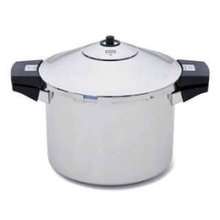 Kuhn Rikon Duromatic 3043 6 Quart Stainless Steel Pressure Cooker   Pressure Cookers & Canners