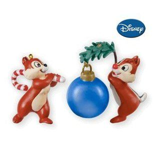 O Christmas Chipmunks! Chip 'N Dale Special Edition Ornament 2010 Limited Quantity   Christmas Decorations