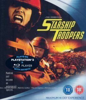 Starship Troopers [Blu ray]: Marshall Bell, Clancy Brown, Eric Bruskotter, Jake Busey, Neil Patrick Harris, Michael Ironside, Matt Levin, Rue McClanahan, Patrick Muldoon, Dean Norris, Brenda Strong, Seth Gilliam, Blake Lindsley, Dina Meyer, Denise Richards