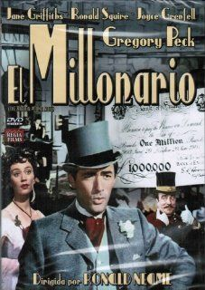 The Million Pound Note [Region 2]: Gregory Peck, Joyce Grenfell, Maurice Denham, Bryan Forbes, Wilfrid Hyde White, Ronald Squire, A.E. Matthews, Reginald Beckwith, Brian Oulton, John Slater, Ronald Neame, CategoryClassicFilms, CategoryCultFilms, CategoryUK
