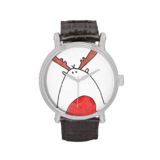 Christmas Rudolph Red Nosed Reindeer Watch