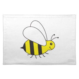 Funny Little Honey Bee Cute Place Mats