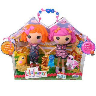 Lalaloopsy Doll Figure Twins 2Pack Sunny Side Up Berry Jars n Jam Toys & Games