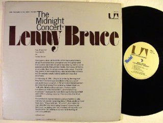 the Midnight Concert of Lenny Bruce, Carnegie Hall Feb. 4, 1961: Music