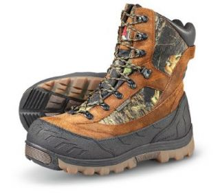 "Men's Rocky 10"" 1400 gram Thinsulate Ultra Insulation Waterproof Abominable Boots Mossy Oak, MOSSY OAK, 9M: Shoes"