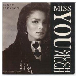 """MISS YOU MUCH 7"""" (45) AUSSIE A&M 1989 LIMITED EDITION (K806) PIC SLEEVE: Music"""