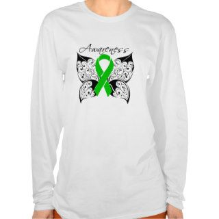 Tattoo Butterfly Awareness   Cerebral Palsy T Shirt