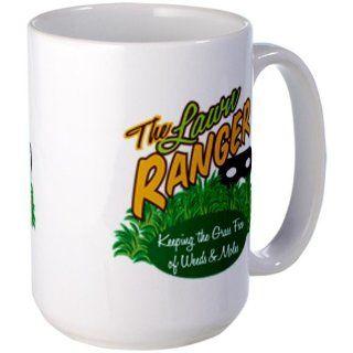 Lawn Ranger Large Mug Large Mug by  Kitchen & Dining