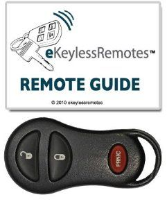2002 2005 Dodge Ram 1500 & 2500 Keyless Entry Remote Fob With Free Do It Yourself Programming (Must Have One Working Remote) Free eKeylessRemotes Guide: Automotive