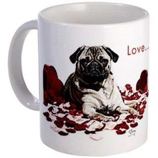 Pug dog Coffee Mug Mug by  Kitchen & Dining