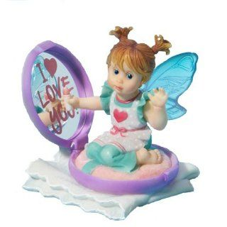 My Little Kitchen Fairies from Enesco Mama's Compact Fairie Figurine 3.25 IN   Collectible Figurines