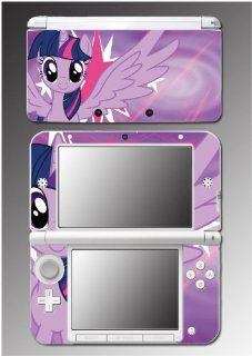 My Little Pony Friendship is Magic Twilight Sparkle Video Game Vinyl Decal Cover Skin Protector for Nintendo 3DS XL Video Games