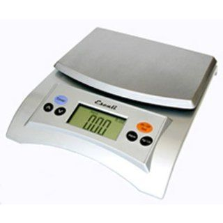 Escali Aqua (A115S) Liquid Measuring Digital Food Scale Silver A115 Digital Kitchen Scales Kitchen & Dining