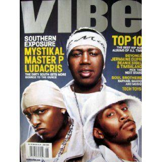 Vibe Magazine Mystikal, Master P and Ludacris Cover June 2002 Editors of Vibe Magazine Books