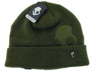 Skullcandy Helium Audio Speaker Beanie Hat Earth Olive Green S8N08BA HZ at  Men�s Clothing store: Skull Caps
