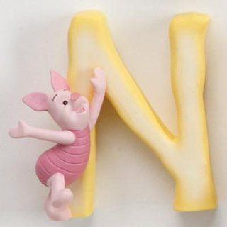 "Disney Pooh & Friends Magnetic Alphabet Letter ""N"" NEW!   Childrens Wall Decor"
