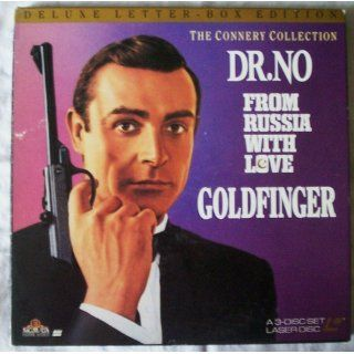 DELUXE LETTER BOX EDITION THE CONNERY COLLECTION DR. NO FROM RUSSIA WITH LOVE GOLDFINGER Sean Connery Electronics