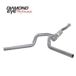"'01 '05 Chevy Silverado, GMC Sierra Duramax 6.6L Diesel, 4"" Aluminized Cat Back Dual Exhaust: Automotive"
