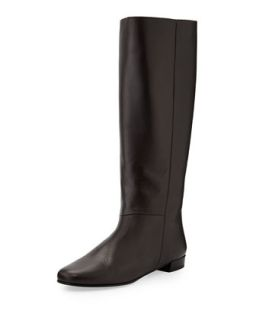 orlena knee high flat boot, chocolate   Kate Spade   Chocolate (36.0B/6.0B)