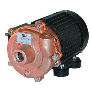 "AMT Pump 3670 94 Marine Pump, Bronze, 1/8 HP, 1 Phase, 115V, Curve B, 3/4"" NPT Female Suction & Discharge Ports: Industrial Pumps: Industrial & Scientific"
