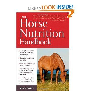 The Horse Nutrition Handbook: Melyni Worth Ph.D.: 9781603425414: Books