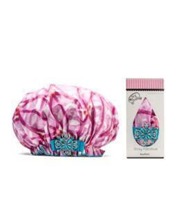 Designer Shower Cap, ORaspberry   Dry Divas