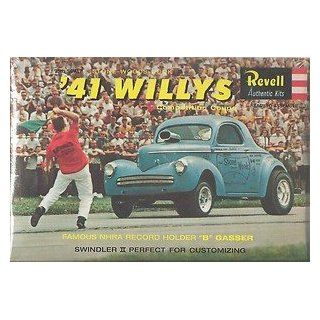 #1287 '41 Willys Competition Coupe 1/25 Scale Plastic model Kit,Needs Assembly: Everything Else